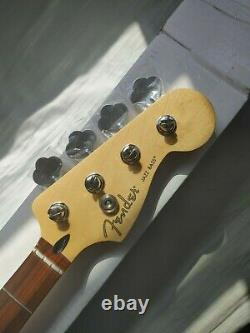 Fender Player Jazz Bass Neck with Tuners Pau Ferro made in Mexico