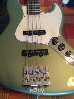 Fender Player Series Jazz Bass Lindy Fralin Pickups Upgraded Bridge Tuners More