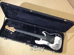 Fender Precision Bass EMG GZR Heavy Relic Warmoth Roasted Neck Roadworn Tuners