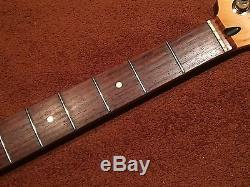 Fender Precision Bass Neck upgraded Gotoh 70's style Nickel Tuners
