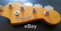 Fender Precision Bass Neck with tuners CIJ 94'-95