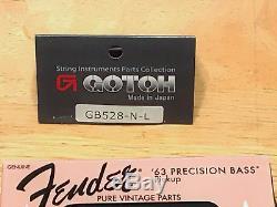 Fender Precision bass player series 63 pup, Gotoh tuners, gigbag, 7.8 lbs