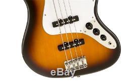 Fender Squier AFFINITY SERIES JAZZ BASS Brown Sunburst withEffin Tuner