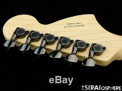 Fender Squier Contemporary Stratocaster Strat NECK TUNERS Reverse Headstock Wht