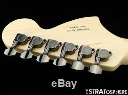 Fender Squier Contemporary Stratocaster Strat NECK+ TUNERS Reverse Headstock Wht