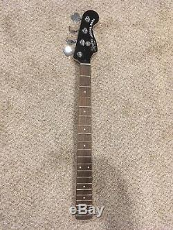 Fender Squier Jaguar SS Bass Guitar Neck And Tuners 2018 Short Scale