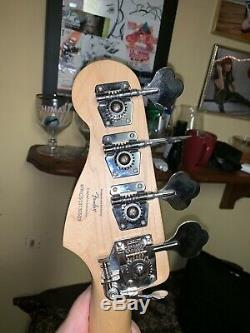 Fender Squire p bass With Hipshot D Tuner