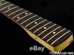Fender Standard JAZZ BASS NECK & TUNERS Bass Guitar 9.5 Radius ROSEWOOD
