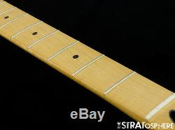 Fender Standard JAZZ BASS NECK and TUNERS Bass Guitar 9.5 Radius, Maple