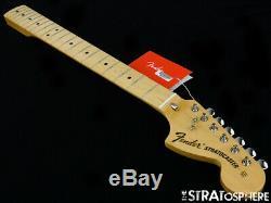 Fender Vintage 70s RI Stratocaster Strat NECK & F TUNERS 1970s Parts Maple