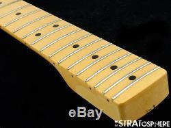 Fender Vintage 71 RI Stratocaster Strat NECK & TUNERS Guitar 1971 Maple