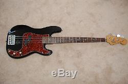 Fender precision bass custom active P/J with rare fine tuner bridge