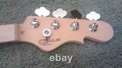 G&L Tribute JB Fender Bass Guitar Neck New with Tuners