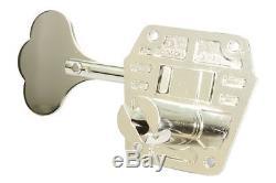 GOTOH GB640 Super Light Weight Bass Guitar Tuning Machine Set NICKEL