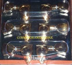 Gibson Les Paul Tuner Set Grover Gold Peg Guitar Parts HP Tuning Machine Custom