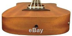 Gold Tone M-BASS Micro Bass 36 Fretted Bass Guitar withGig Bag + Tuner + Polish