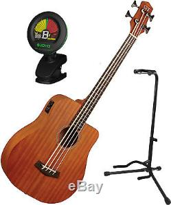 Gold Tone Mbass-25 25-Inch Scale MicroBass Guitar with Gig Bag, Tuner, and St