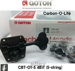 Gotoh CBT-01-4B1T Bass 5-string CARBON-O-LITE 4B1T Tuners