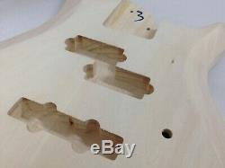 Haze Complete No-Soldering Electric Bass Guitar DIY+Free Tuner, 3 Picks B-325DIY