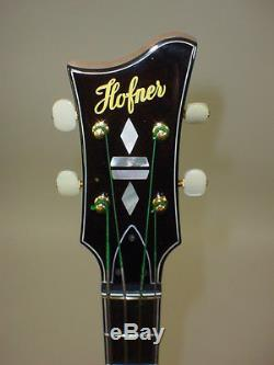 Hofner 5000/1 Deluxe Electric Bass Guitar with Original Case & TUNER CABLE & STRAP