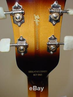 Hofner HCT-500/5 Contemporary President Reissue Bass with Case & TUNER CABLE STRAP