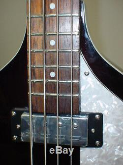 Hofner Hi Series Ignition Violin Bass BLACK with CASE, TUNER & CABLE