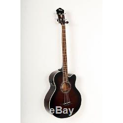 Ibanez AEB10E A/E Bass Guitar with Onboard Tuner Dark Violin Sunbrst 88365770017