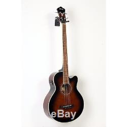 Ibanez AEB10E A/E Bass Guitar with Onboard Tuner Dark Violin Sunbrst 88365901060