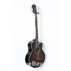 Ibanez AEB10E A/E Bass Guitar with Onboard Tuner Dark Violin Sunbrst 88365901404