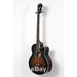 Ibanez AEB10E A/E Bass Guitar with Onboard Tuner Dark Violin Sunburst 190839031327
