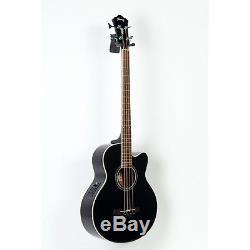 Ibanez AEB10E Acoustic-Elec Bass Guitar Onboard Tuner Gloss Black 888365600321