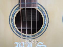 Ibanez AEB10E Acoustic-Electric Bass Guitar AEB10E-NT ONBOARD TUNER