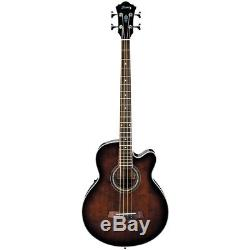 Ibanez AEB10E Acoustic-Electric Bass Guitar with Onboard Tuner 190839432582 OB