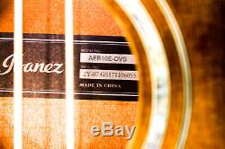Ibanez AEB10E Acoustic-Electric Bass Guitar with Onboard Tuner Dark Sunburst