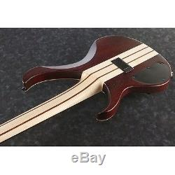Ibanez BTB33 5-String Electric Bass Guitar Flat Natural withtuner, Stand + More