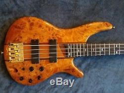 Ibanez Bass Guitar SR800 with Drop D Tuner and Schaller Strap Locks