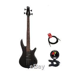Ibanez GSRM20B-WK 4 String BWK 3/4 Size Electric Bass Guitar with Tuner & Cable