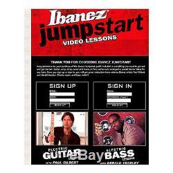 Ibanez IJXB150B Jumpstart Brown Bass Guitar Beginner Package w Amp Tuner & More
