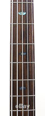 Ibanez SR1205E 5-String Bass Guitar Vintage Natural Flat with STRAP TUNER & CABLE