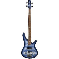 Ibanez SR300E SR Standard Series Electric Bass Guitar Navy withStand, Tuner &Pick