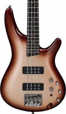 Ibanez SR300ECCB Champagne Burst Electric Bass Guitar with Tuner, Stand + More