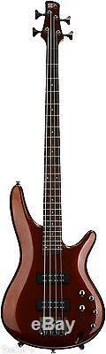 Ibanez SR300ERBM Electric Bass Guitar Root Beer Metallic withGigbag, Tuner + More