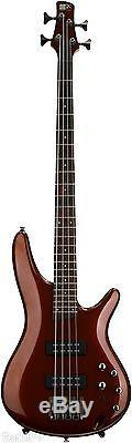 Ibanez SR300ERBM Electric Bass Guitar Root Beer Metallic withHardcase, Tuner+More