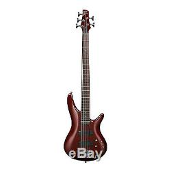 Ibanez SR305ERBM Bass Electric Guitar in Root Beer Metallic With Tuner & Cable