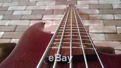Ibanez SR505 5 string Bass Guitar withBartolini pickups and Hipshot tuners Korea