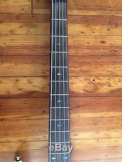 Ibanez SR535 Electric Bass Guitar Pearl White Near Mint with Strap, Tuner, Case