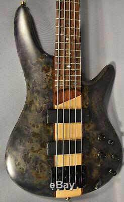 Ibanez SR805 5-String Bass Guitar Project, Bartolini MK-1 Pickups, Gotoh Tuners