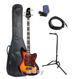 Ibanez TMB300TFB Talman Bass Pack, Deluxe Bag, Stand, Tuner, Cable