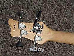 JACKSON CONCERT 4-String Bass Guitar C4P with Schaller D-tuner Black