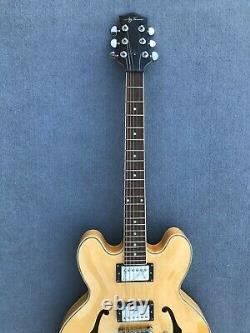 Jay Turser Semi-Hollow Electric Guitar In Natural Color